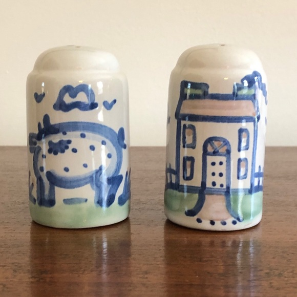 Vintage Salt and Pepper Shakers by M.A. Hadley